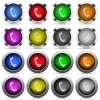 Call button set - Set of call glossy web buttons. Arranged layer structure.