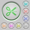 Cut out push buttons - Set of color Cut out sunk push buttons.