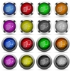 Move file button set - Set of move file glossy web buttons. Arranged layer structure.