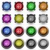 Play files button set - Set of Play files glossy web buttons. Arranged layer structure.