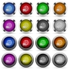 International transport button set - Set of International transport glossy web buttons. Arranged layer structure.