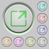 Maximize window push buttons - Maximize window color icons on sunk push buttons