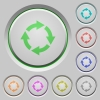 Rotate right push buttons - Rotate right color icons on sunk push buttons