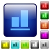 Align to bottom color square buttons - Align to bottom icons in rounded square color glossy button set
