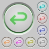 Back arrow push buttons - Back arrow color icons on sunk push buttons