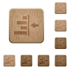 Increase right indentation of content wooden buttons - Increase right indentation of content on rounded square carved wooden button styles