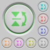 Vertical flip push buttons - Vertical flip color icons on sunk push buttons