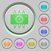 Hardware diagnostics push buttons - Hardware diagnostics color icons on sunk push buttons