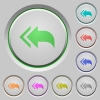 Reply to all recipients push buttons - Reply to all recipients color icons on sunk push buttons