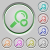 Favorite search push buttons - Favorite search color icons on sunk push buttons