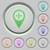Move GPS map location push buttons - Move GPS map location color icons on sunk push buttons