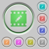 rename movie push buttons - rename movie color icons on sunk push buttons
