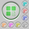 Component properties push buttons - Component properties color icons on sunk push buttons