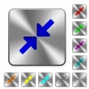 Resize small rounded square steel buttons - Resize small engraved icons on rounded square glossy steel buttons