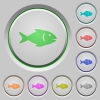Fish push buttons - Fish color icons on sunk push buttons