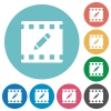 rename movie flat round icons - rename movie flat white icons on round color backgrounds