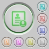 Download contact push buttons - Download contact color icons on sunk push buttons
