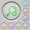 Trusted search push buttons - Trusted search color icons on sunk push buttons
