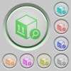 Find package push buttons - Find package color icons on sunk push buttons