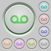 Voicemail push buttons - Voicemail color icons on sunk push buttons