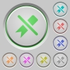 Untag push buttons - Untag color icons on sunk push buttons