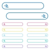Increase left indentation of content icons in rounded color menu buttons. Left and right side icon variations. - Increase left indentation of content icons in rounded color menu buttons
