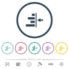 Increase right indentation of content flat color icons in round outlines. 6 bonus icons included. - Increase right indentation of content flat color icons in round outlines