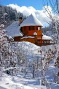 Chalet in the snow in Transylvania - Chalet