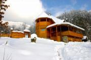 A cabana in Transylvania in winter - A cabana in Transylvania