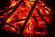 The core of a sizzling campfire - Sizzling campfire