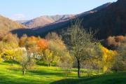 View of a colorful autumn valley - Autumn valley