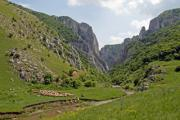 View of the famous canyon near Turda in Romania - Turda Gorges