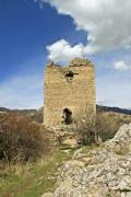 The tower house of the castle of Torockoszentgyorgy - Castle ruins of Torockoszentgyorgy, Cetatea Coltesti, Romani