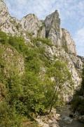 A cape in the famous canyon Turda Gorges, Romania - Turda Gorges, Cape Needle