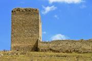 Detail of the castle ruins of Torockoszentgyorgy, the tower house - Castle ruins of Torockoszentgyorgy, Cetatea Coltesti