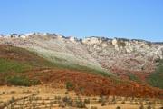 View of the Turda Gorges in Transylvania in autumn - Turda Gorges