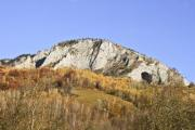 View of Trascãu Mountains in Transylvania - Trascãu Mountains
