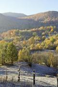 View of hills and woods in autumn - Autumn landscape