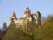 Old Hungarian castle in Transylvania, associated with Dracula - Dracula
