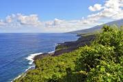 Beautiful tropical island in the Indian ocean - Green island