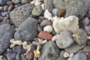 Small stones on the seaside - Stones on the beach