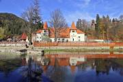 A very nice, castle-like building on the lake shore - Beauty by the lake