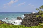Windy weather on a tropical island - Wild coast on Grand Comorre