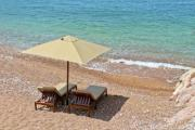 Two luxury sunbeds with parasol - They are waiting for you