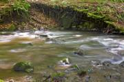 Some stones in a stream - Stony riverbed