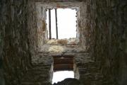The tower of an old church or castle from inside - Inside a tower