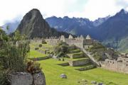 Ancient buildings on Machu Picchu - Machu Picchu