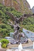Pacsakutek Yupanki, the great inca emperor with the three symbolic animals - The Inca