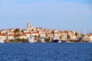 City of Milna in Dalmatia, Croatia - Dalmatian city