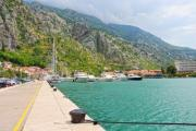 Harbor in Kotor at summertime - Kotor